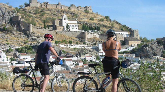 Carril-bici en Gran Vía