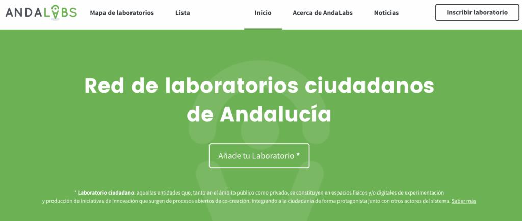 Encuentro Andalabs – Red de laboratorios ciudadanos de Andalucía
