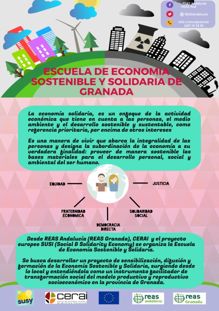 CreaCultuLabs inaugura una Escuela de Economía Sostenible y Solidaria en Granada