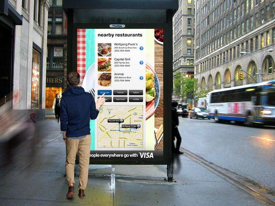 Paneles de información interactivos