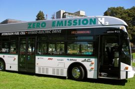 Nueva flota de autobuses híbridos