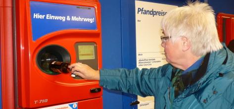 Reciclaje a cambio de dinero o descuentos en supermercados