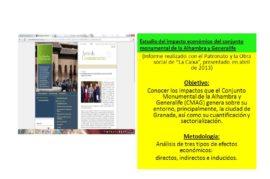 Mejorar el impacto económico de la Alhambra sobre Granada