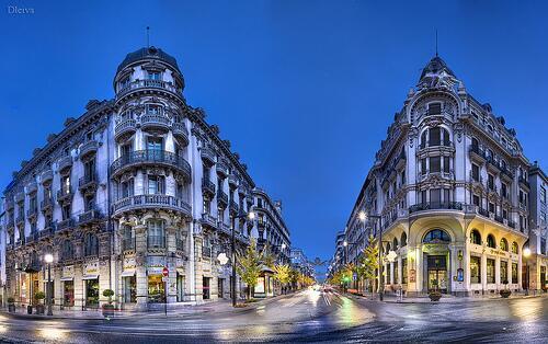Revitalización de la Gran Vía de Granada