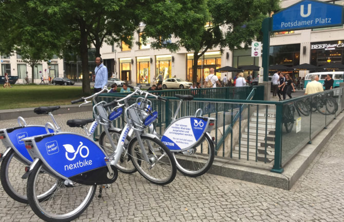 Alquiler de bicicletas para desplazamientos puntuales