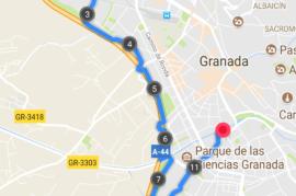 Cálculo de rutas eficientes en Granada
