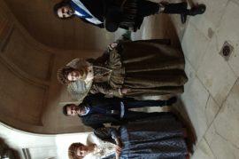 Actores en la Alhambra
