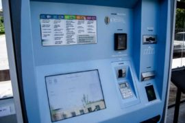 Uso múltiple de máquinas expendedoras de billetes de autobús