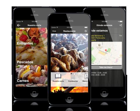 App para restaurantes que nos permita saber si hay mesa en el momento.