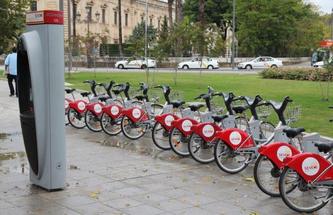 Estaciones de bicicletas de alquiler