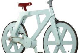 Bicicletas de cartón