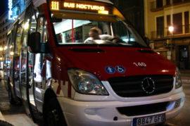 Mejorar el transporte nocturno