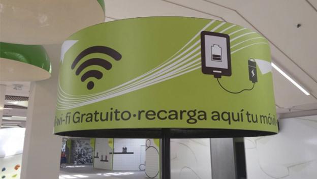 Cargadores de móviles urbanos