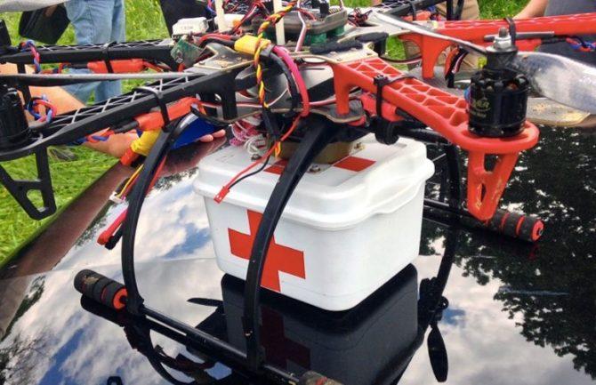 Uso de drones en emergencias