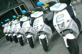Servicio de motos eléctricas por minutos en Granada