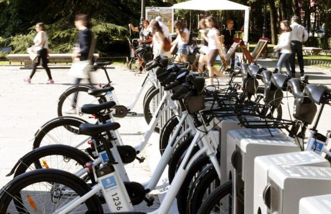 BiciGRA. Servicio público de bicicletas en Granada.