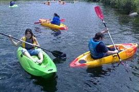 Promover actividades recreativas náuticas en el río Genil