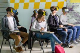 Gafas de realidad virtual para las autoescuelas.