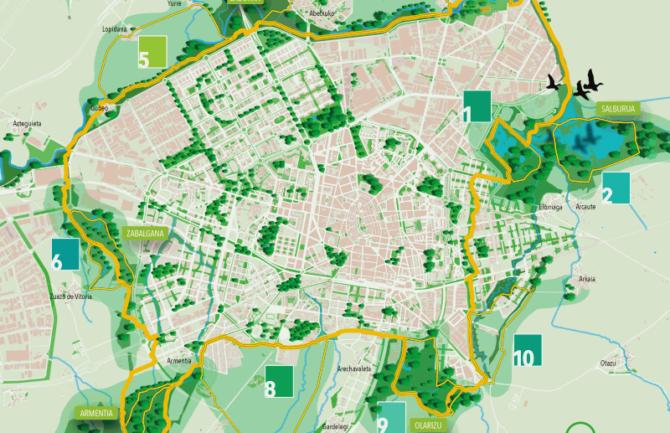 Pequeños espacios que unidos hagan un gran espacio verde