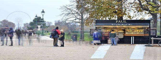 Cafeterías móviles en monumentos