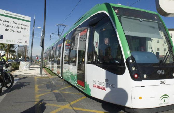 Ampliar el recorrido del Metro de Granada