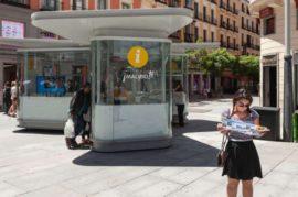 Unidades Móviles de Información Turística  distribuidos por Granada