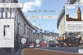 Realidad aumentada y gamificación para completar la experiencia del turista.