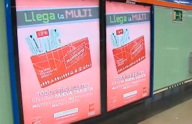 Tarjeta única para bus y metro