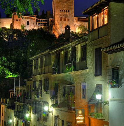 Tranvía-funicular a la Alhambra