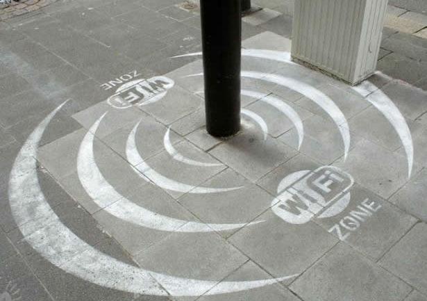 Colocación de Zona Wifi en el centro turístico de la ciudad