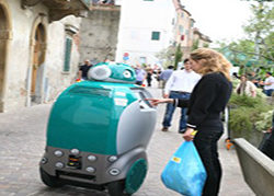 Robot que recoge basura