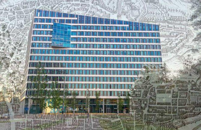 """""""Edificios inteligentes"""" vs """"edificios históricos"""" o integrados."""