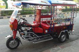 Tuc-tuc como transporte público