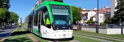 Aumentar la frecuencia de circulación del metro de Granada