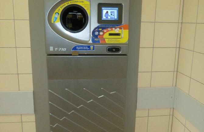 Máquinas de reciclaje con recompensa