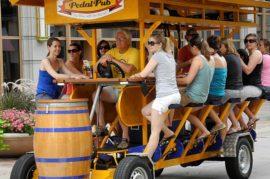Cerveza a pedales