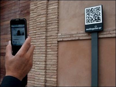 Códigos QR en los monumentos