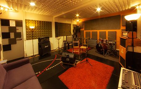 Estudio de grabación y ensayo público