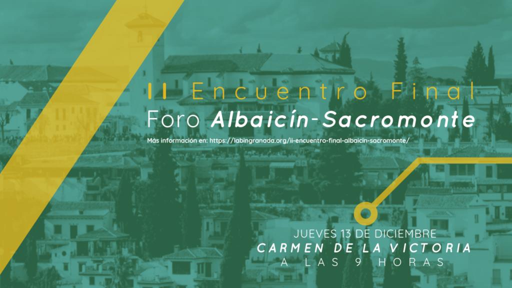 IIEncuentrodel Foro Albaicín y Sacromonte sobre Turismo Sostenible
