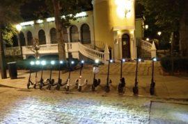 Granada en patinete