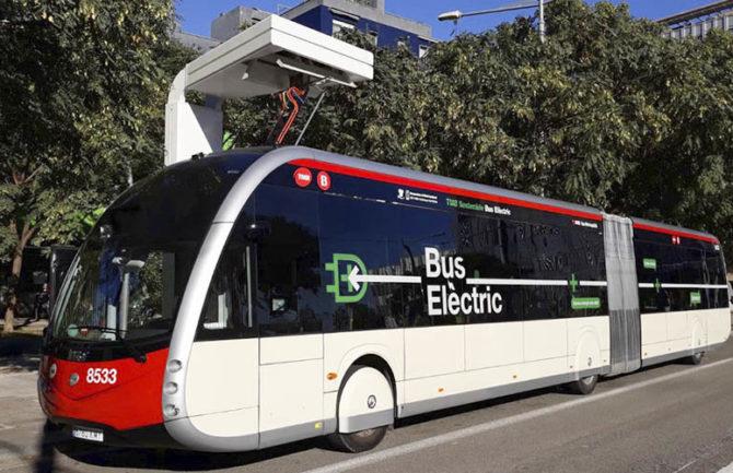 Autobuses eléctricos e inteligentes