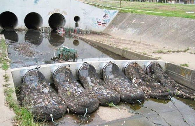 Adiós basura en los ríos