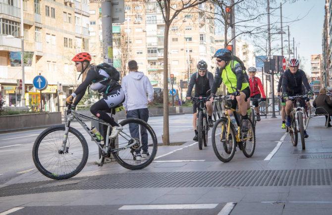 Ampliación para la circulación de bicicletas