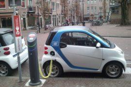 Estaciones de carga para coches electricos