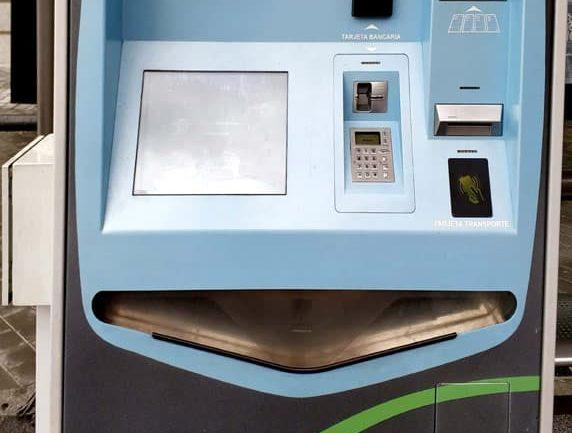 Un mejor mantenimiento de las máquinas que recargan los bonos de bus