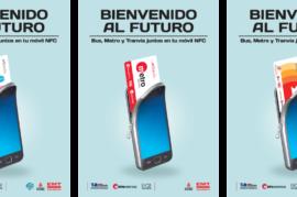Bonos de metro y bus en tu móvil y poder recargarlos online.
