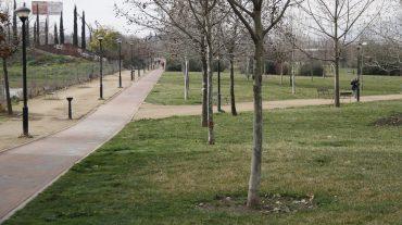 Zonas verdes en la ciudad de Granada