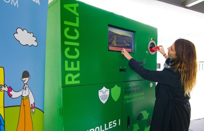 Máquinas de reciclaje a cambio de entradas a los monumentos de la ciudad
