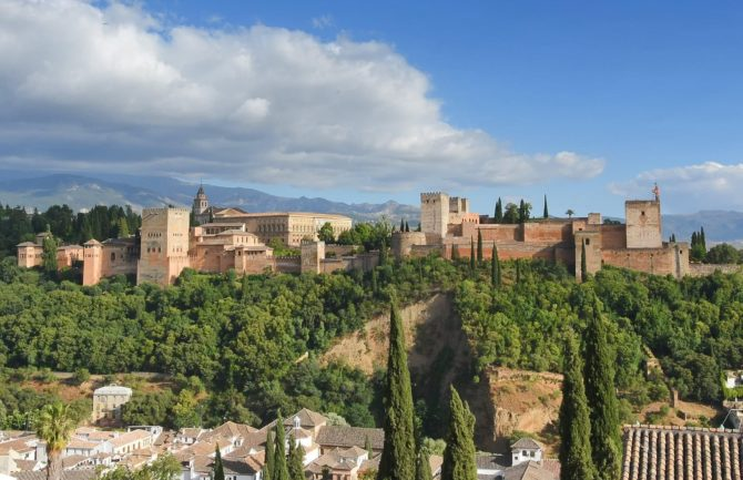 Funicular hasta la Alhambra