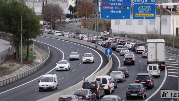 Segunda circunvalación u autovía en Granada